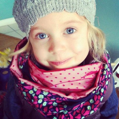 Infinity scarf - enfant