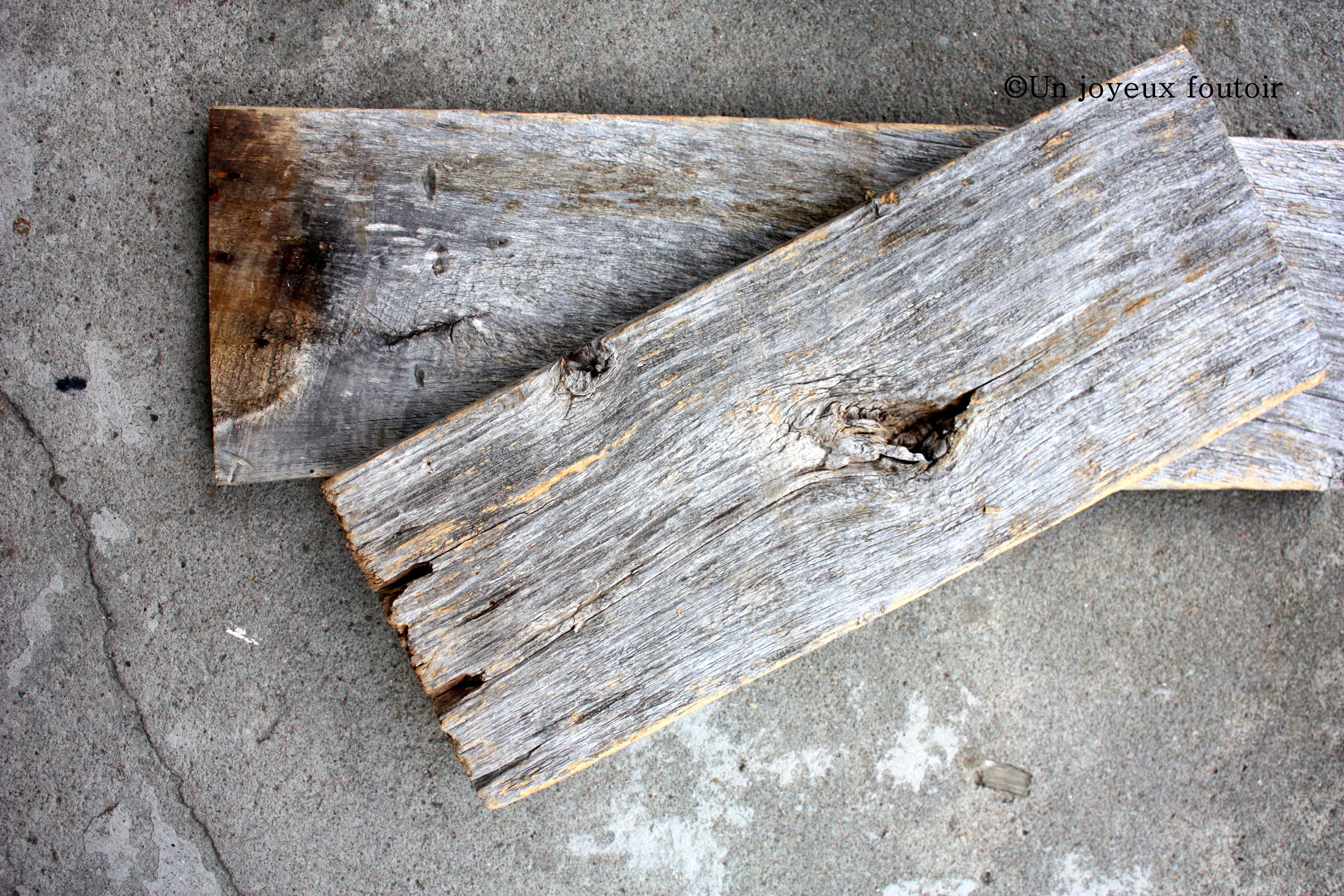 bois de grange Un joyeux foutoir